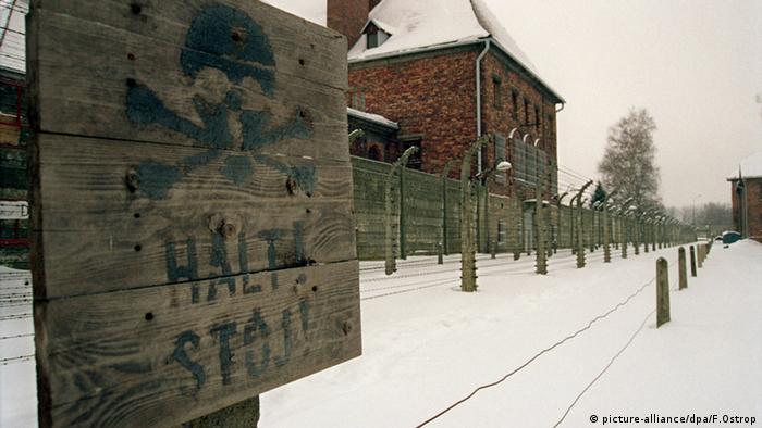 Ehemaliges Vernichtungslager Auschwitz-Birkenau (picture-alliance/dpa/F.Ostrop)