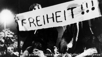 En 1989, les manifestants du lundi réclamaient la liberté