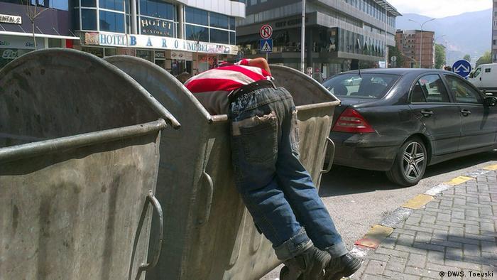 Armut in Mazedonien