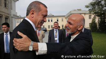 Aschraf Ghani Ahmadsai trifft Erdogan in Kabul