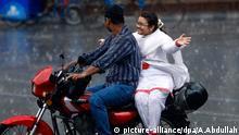 Ein Paar in Dhaka