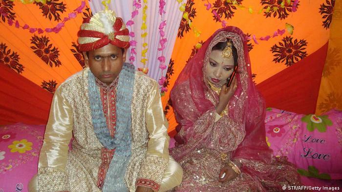 Hochzeit in Bangladesch