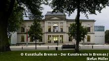 Außenansicht der Kunsthalle Bremen