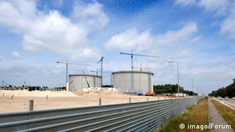 Будівництво терміналу для прийому зрідженого газу в місті Свійноуйсьце