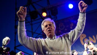 Tabare Vazquez Wahlkampf Uruguay