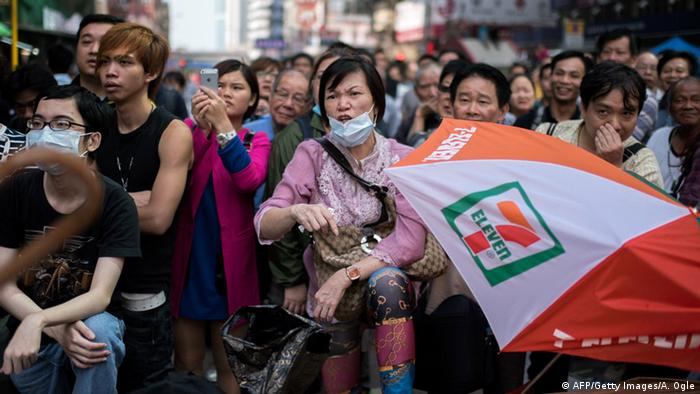 Proteste in Hongkong (Foto: Getty Images)