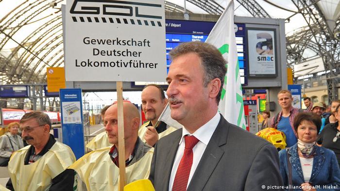 Bildergalerie Streik Lokführer