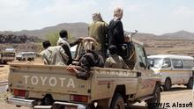 Jemen: Eroberung der jemenitischen Hauptstadt Sanaa durch schiitische Milizen Huthies Rechte: DW-Korrespondent im Jemen. S. Alssofi