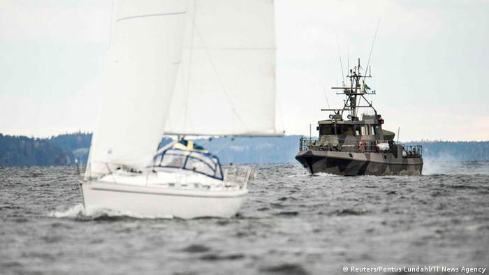 Schweden Großeinsatz nach fremder Unterwasseraktivität vor der Küste