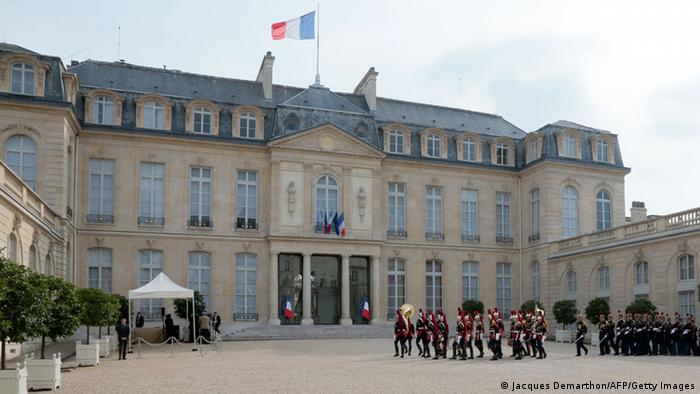 Єлисейський палац у Парижі, резиденція президента Франції