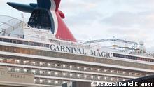 USA; Texas Carnival Magic Kreuzfahrtschiff 19.10.2014