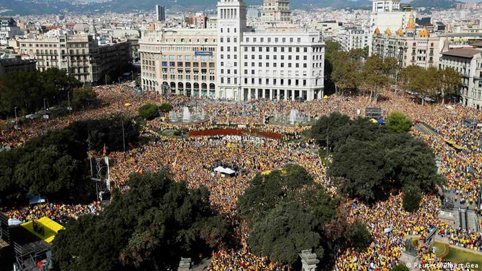 Catalans demand independence