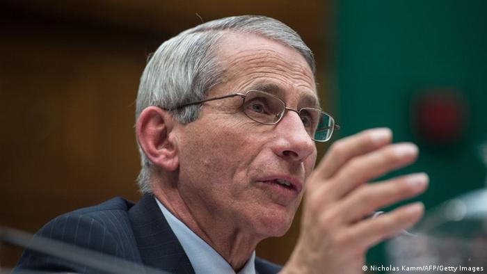 Anthony Fauci USA NIAID 16.10.2014 (Nicholas Kamm/AFP/Getty Images)