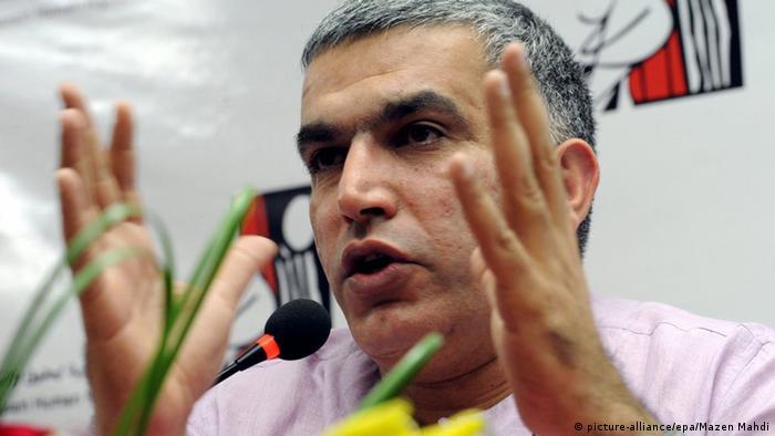 Nabeel Rajab Menschenrechtsaktivist Bahrain