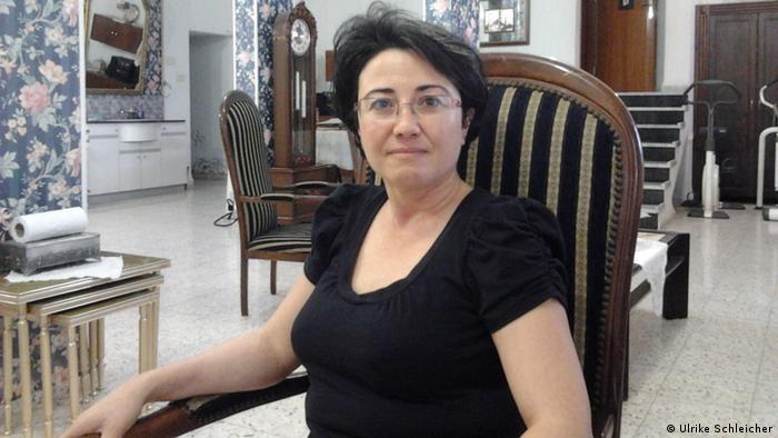 Hanin Zoabi durfe wegen des Besuchs bei Hinterbliebenen von Attentätern nicht an Sitzungen teilnehmen (Foto: Ulrike Schleicher, DW)