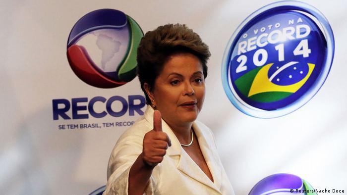 Brasil: Rousseff ampl�a su ventaja sobre A�cio Neves