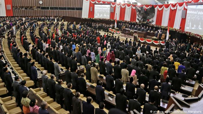 Indonesien Neuer Präsident Joko Widodo 20.10.2014