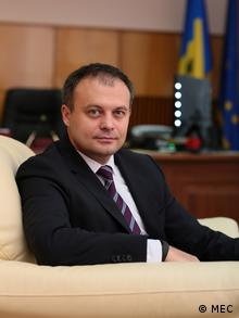 Andrian Candu Wirtschaftsminister der Republik Moldau