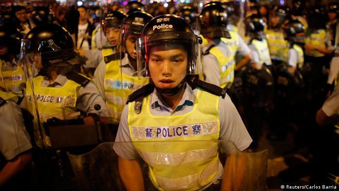 Bildergalerie Proteste in Hongkong