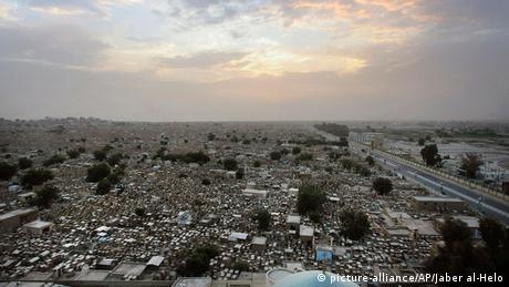 Irak Najaf Tal des Friedens Friedhof