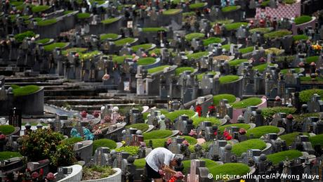 New York Washington Cemetery Friedhof