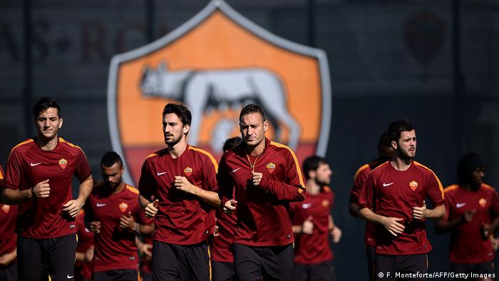 Italien Fußball Champions League AS Roma Training (Foto: FILIPPO MONTEFORTE/AFP/Getty Images)