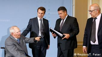 Από παλαιότερη συνάντηση το 2014 όταν ο Εμ. Μακρόν ήταν ακόμη υπουργός Οικονομίας