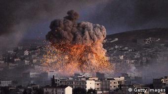 Explosion in Kobane