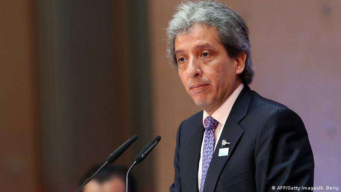 Manuel Pulgar-Vidal. (Photo: ADAM BERRY/AFP/Getty Images)