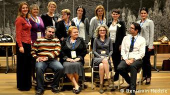 Der neue Vorstand des bosnisch-herzegowinischen Deutschlehrerverbandes