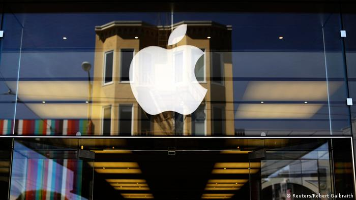 Apple Logo San Francisco (Foto: Reuters)