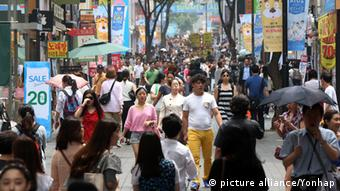 Shopping in Seoul July 2014