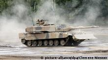 Symbolbild Waffenexporte Deutschland Panzer Leopard