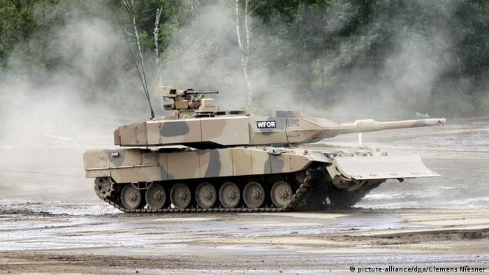 Основний бойовий танк Leopard 2 A7+