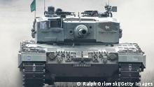 Symbolbild Waffenexporte Deutschland Panzer