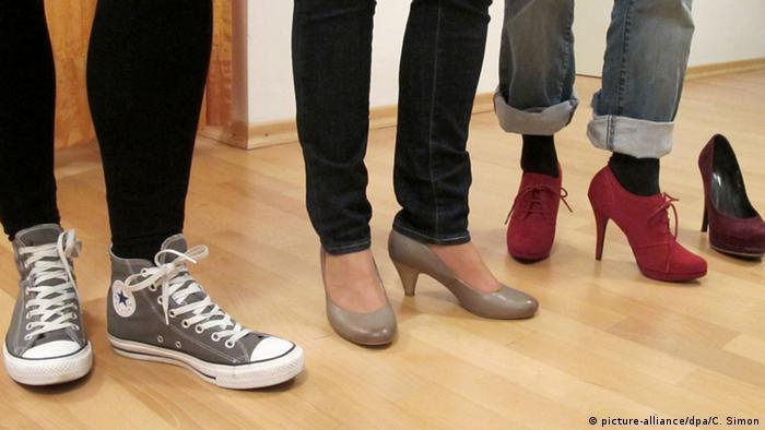 Кеды и обувь на каблуке