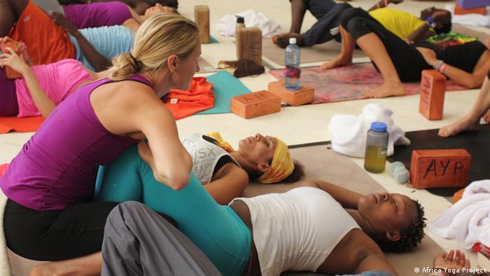 Yoga in Kenya