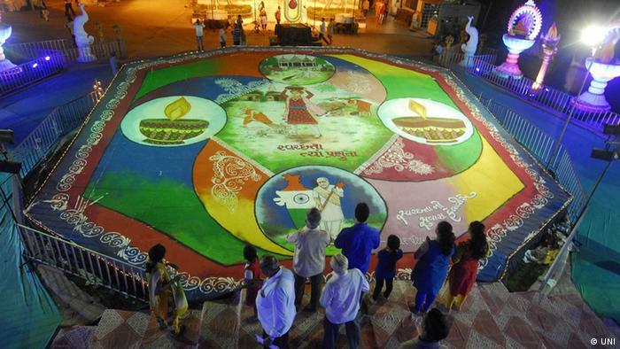 Fest der Lichter in Diwali, Indien