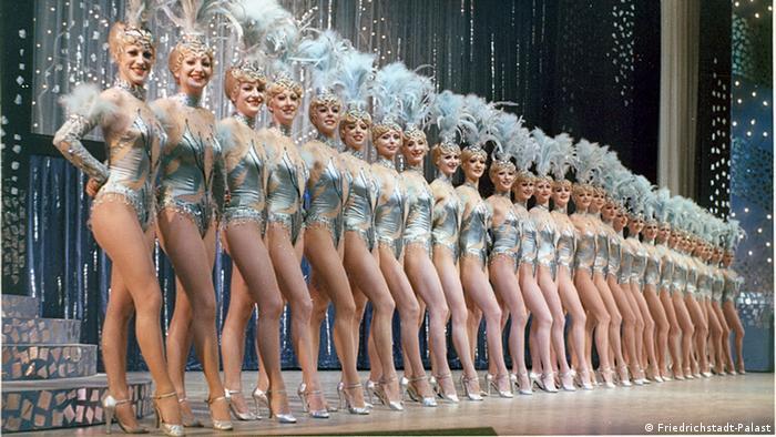 Артистки балета театра Фридрихштадтпаласт в 1981 году