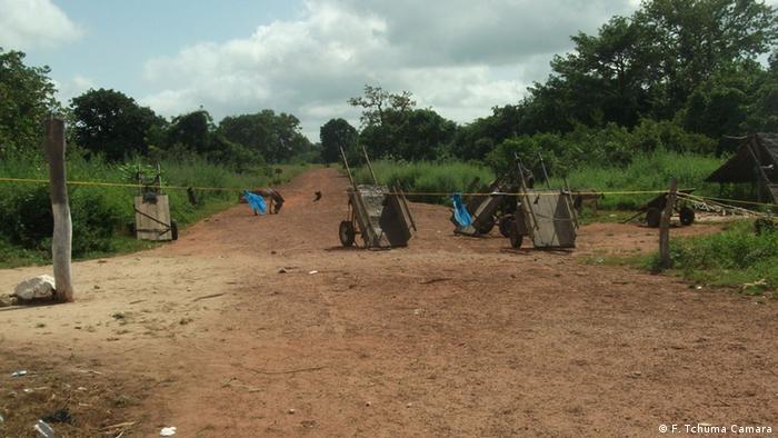 Grenze zwischen Guinea-Bissau und Guinea Conakry