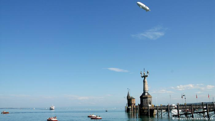 Zeppelin over Lake Constance (Photo: Imago/bodenseebilder.de)