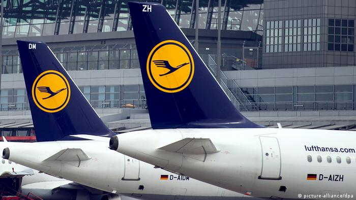 Lufthansa Streik (picture-alliance/dpa)