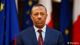 Waziri mkuu wa Libya Abdullah al Thinni