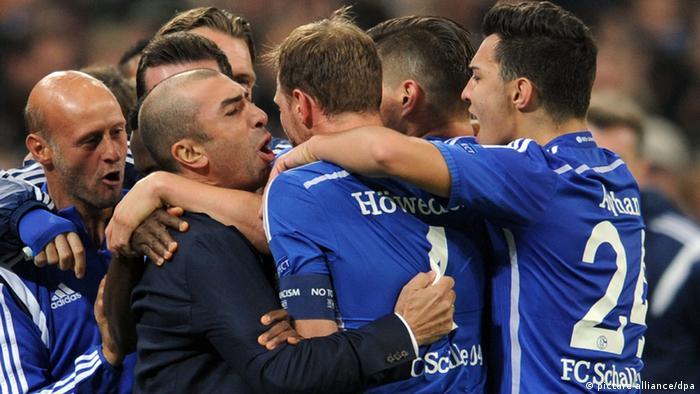 FC Schalke 04 vs. Sporting Lissabon 21.10.2014