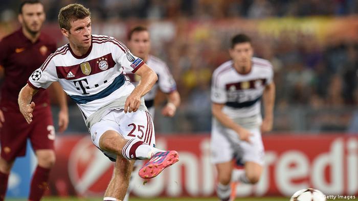 FC Bayern München vs. AS Rom 21.10.2014