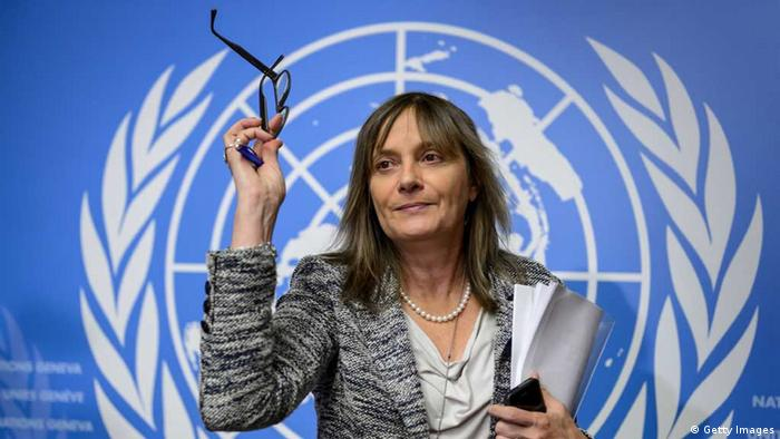 WHO Assistant Director General for Health Systems and Innovation, Marie Paule Kieny (Getty Images)