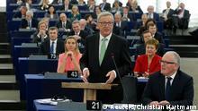 Juncker im Europaparlament 22.10.2014