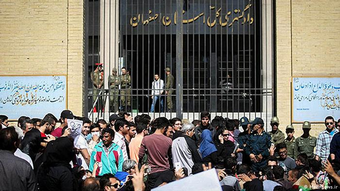 Proteste in Isfahan Iran