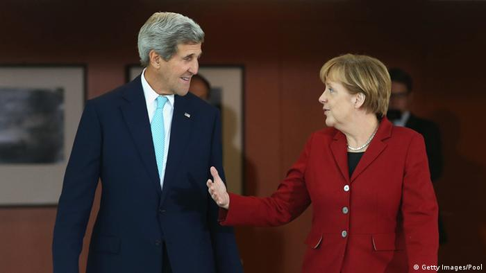 Kerry and Merkel 22.10.2014