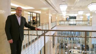 Max Musto Manager des Four Seasons Hotels in Moskau
